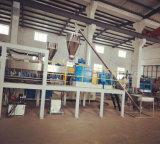 Pet/PVC por extrusión de doble husillo de la línea de producción de plástico
