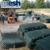Belüftung-überzogene sechseckige Draht-Filetarbeit mit Fabrik-Preis