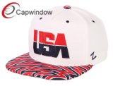 Sombrero Snapback con bordado en 3D la tapa de estilo de moda de EE.UU.
