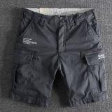 Shorts del carico di modo tinti filato di modo TC del Mens degli uomini (023)