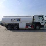 Sinotruck 10の車輪のタイヤ30tガソリン重油の配達用トラック