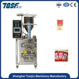 Macchinario automatico caldo dell'imballaggio del condimento dell'insalata del venditore Tj-280j 10g 30g 50g con una guarnizione dei 4 lati