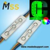 Tensão baixa 5050 SMD LED à prova de luz do módulo RGB