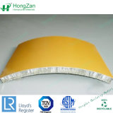 Panneaux d'Honeycomb en aluminium pour l'extérieur du panneau de décoration