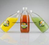 Limpar e Frost garrafas de suco de vidro 250ml 500ml
