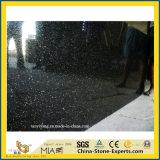 Индия большой черный Galaxy гранитные плиты