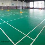 Il campo da pallacanestro esterno dell'interno del PVC della plastica poco costosa mette in mostra la pavimentazione