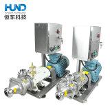 Edelstahl-gesundheitliche Doppelschrauben-Pumpe mit Basissteuerpult