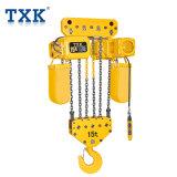 Txkの製造15tのインポートされた鎖が付いている電気チェーン起重機