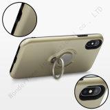 Híbrido de anillo de soporte a los golpes Cubierta para iPhone x