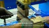 반 자동적인 철강선 감금소 용접공