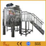 Réservoir-Crème de mélange de port de Changhaï mélangeant le récipient de mélange de qualité Réservoir-Élevée