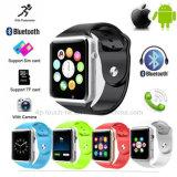 Téléphone intelligent de vente chaud de montre de Bluetooth avec la fente A1 de carte SIM