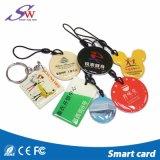 아름다운 125kHz/13.56MHz RFID 에폭시 Keychain
