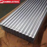 Hoja galvanizada materiales de la construcción de edificios