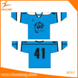 Healong Sublimation USA-kundenspezifische Hochschuleis-Hockeyjerseys-Hemden