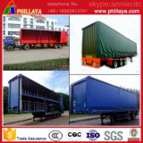 Transport de marchandises à grande vitesse Van Semi Curtain Side Trailer