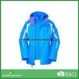 Куртка лыжи in-1 зимы 3 верхнего качества для куртки напольных спортов