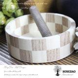 Hongdao Box_D de empacotamento de madeira redondo customizável de venda quente