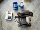 Medidor de flujo magnético inteligente de las aguas residuales de las aguas residuales
