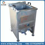 La patatina fritta automatica scheggia la macchina della friggitrice/spuntino che frigge la macchina