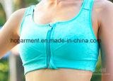 Быстро сухие одежды разминки для женщин, бюстгальтера спортов женщин, износа йоги