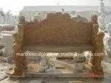 베이지색 돌 조각품 앙티크 대리석 테이블 (SY-T003)