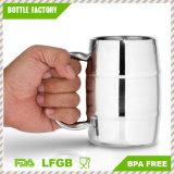 Cerveja do dobro da embarcação de Eco/caneca de café isoladas tambor - 12oz - BPA livre/caneca de cerveja dobro da parede