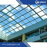 vetro temperato della radura di 3-19mm per costruzione