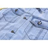 人の衣服のためのカラーリボンの形のNonmainstreamの青いジャケット