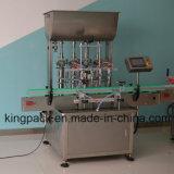 Seis de la cabeza completamente automática máquina de llenado para la viscosidad del producto detergente