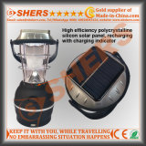 5 presa di campeggio solare del USB dell'indicatore luminoso d'avvertimento della lanterna 4 LED di SMD LED