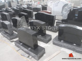 Black americano Granite Monument/Headstones con Angel Carving