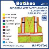Roupas de segurança de alta qualidade e refletor de segurança com alta visibilidade