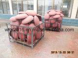 Анкер гриба DIN рыболовства при покрашенный красный цвет