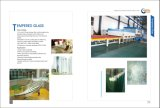 porta do vidro temperado de 12mm