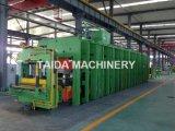고무 컨베이어 벨트 격판덮개 가황 압박 가황기 기계 플랜트 제조자
