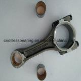 Individu lubrifiant le roulement de glissière pour des pièces de moteur
