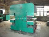 Maquinaria hidráulica Vulcanizing da placa da imprensa para as peças de borracha
