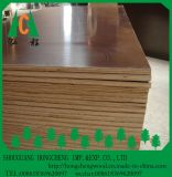 A película de Brown da madeira compensada da construção da boa qualidade de Brown enfrentou a madeira compensada
