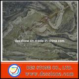 Losa y azulejo de mármol verdes (DES-MT017) de Gangsaw