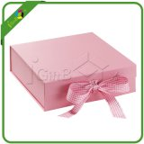 Fancy Wedding Gift Boxes com fita / janela / tampa