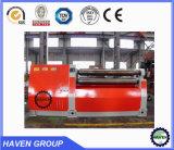 Prensa de doblez y de batir de la placa hidráulica de cuatro rodillos W12S-10X3200