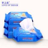 Não Tecidos Spunlace 30HP 140*180mm Toalhetes de limpeza do bebé