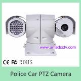 Câmera da velocidade PTZ do carro de polícia para o sistema de vigilância video móvel