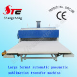 Large Format Pneumatic Sublimation Transfer Machine 80*80cm Automatic Pneumatic Heat Press Machine T Shirt Heat Printing Machine Stc-Z02
