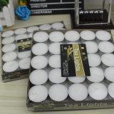 中国の製造業者の白く装飾的な蝋燭Tealight