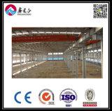 Edificio de acero constructivo prefabricado de la estructura de acero mejor para el almacén (ZY111)