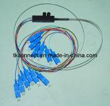 12 ruban plat Core amorce en fibre optique SC