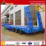 디젤 엔진 유형 굴착기 무거운 기계 수송 Lowbed 모듈 반 트레일러 트럭